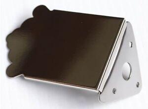 Allparts Gibson Style Mandolin Tailpiece - Nickel - MT 0987-001