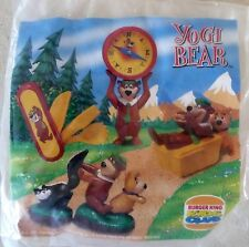 LOT DE 3 JOUET BURGER KING YOGI BEAR 1997 / SOUS BLISTER