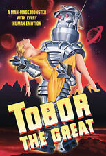 Tobor the Great DVD 1954 w/ Poster