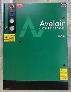 Avelair 10EN4 Floor Mounted Rotary Screw Compressor! 4.0Kw, 5.5Hp, 15Cfm, 10Bar!