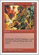 EARTHQUAKE Fifth Edition MTG Red Sorcery RARE