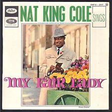NAT KING COLE SINGS MY FAIR LADY RARE 45T EP BIEM COLUMBIA ESRF 1483