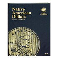 Whitman Native American Dollar Coin Folder Starting 2009 #3163