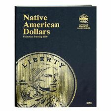 Whitman Native American Dollar Coin Folder 3163 Starting 2009