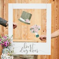 Ginger Ray Wedding Day Party Photo Booth Giant Polaroid Sign CW-253