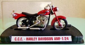 AMF AERMACCHI CCE HARLEY DAVIDSON SPORTSTER 1/24 GUILOY NEUF MIB