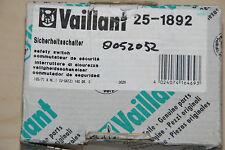 VAILLANT 251892 25-1892 SICHERHEITSSCHALTER 125/71 X NL I U-SATZ 140 GRAD NEU