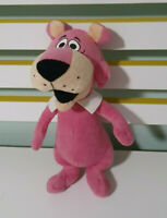 HANNA-BARBERA SNAGGLEPUSS PLUSH TOY SOFT TOY 28CM TALL PINK CAT
