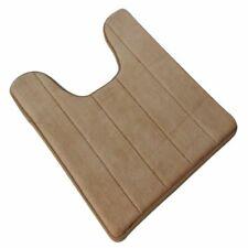 U-shaped Cotton Toilet Bathroom Carpet Mat, 40 x 60cm Toilet Rug, Floor Car V3D9
