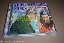 Those Were Our Songs Music of WW2 WWII World War 2 USA 2001 Capitol 2 CD Set