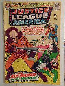 DC Comics JUSTICE LEAGUE OF AMERICA #41 (1965) 1st App. & Origin of the Key