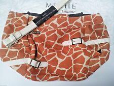 NEW in pkg GIANNA giraffe + cream handles  MICHE bag shell fits DEMI size base