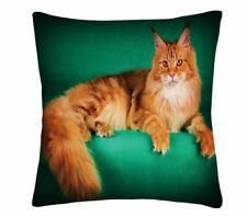 Ginger cat kitten  PHOTO DESIGN CUSHION COVER  45x45 CM