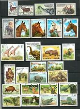 COLLECTION  OF THEMATIC STAMPS - ANIMALS - 1958 ONWARDS MNH & USED
