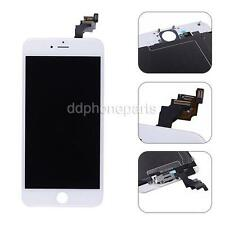 "For iPhone 6 Plus 5.5"" White LCD Touch Screen Digitizer + Front Camera + Frame"