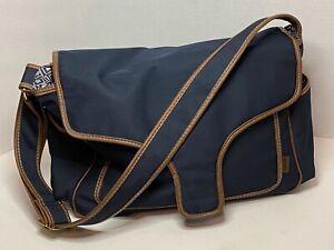 Carters Bag Diaper Baby Shoulder  Blue Large