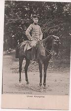 Vintage Postcard Wilhelm, German Crown Prince