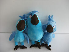 Carla,Tiago and Bia (Baby Macaws Rio 2  )  15-18cm qty 3