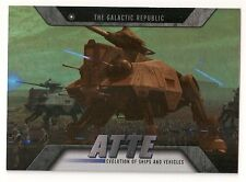 2016 TOPPS STAR WARS EVOLUTION SHIPS AND VEHICLES #EV-13 AT-TE