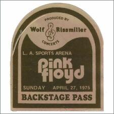 Pink Floyd 1975 LA Sports Arena Backstage Pass (USA)