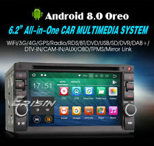 AUTORADIO ANDROID 8.0 OctaCore 4GB-32GB Fiat Bravo,punto,croma,500,500l,500xl -