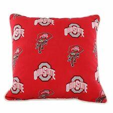 "Ohio State Buckeyes Outdoor Decorative Pillow 16"" x 16"""