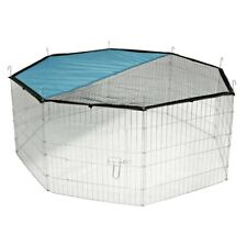 Large Pet Playpen Outdoor Easy Storage Safe Sun Protection Dog Cat Rabbit 8panel