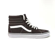 Vans Sk8 Hi Chocolate Torte Men's 13 Skate Shoes New Brown White