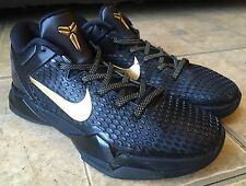 Nike Zoom Kobe System 7 VII WTK Elite Black Gold 511371-001 Men Size 8.5