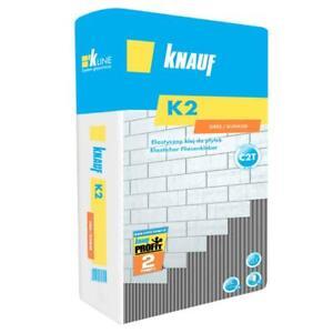 KNAUF K2 25kg Fliesenkleber flexibel Flexkleber Kleber Fliesen Bau Flexmörtel