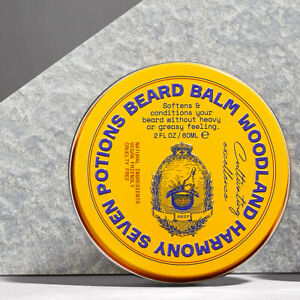 Seven Potions Beard Balm 60ml All Natural, Cruelty Free - 2 Different Scents
