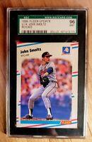 JOHN SMOLTZ 1988 FLEER update RC #U-74 SGC 96 MINT Atlanta Braves ⚾️ HOF reduced