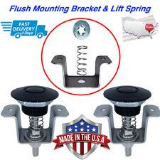 Push Button Latches Dzus Fastener Retro Bracket & Lift Spring Convert Your Dzus