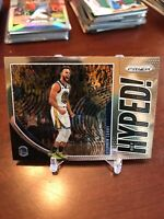 2019-20 Panini Prizm NBA HYPED Stephen Curry #4 GOLDEN STATE WARRIORS