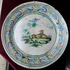 150803 Un grande piatto rustico probabilmente vietrese dell'800 o precedente
