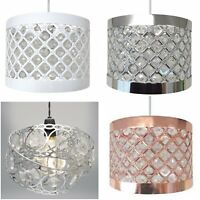 Moda Ceiling Light Shades Modern Moda Gem Wrap Sparkle Crystal Pendant Lampshade