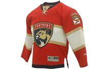 Florida Panthers Kids Youth Size official NHL Reebok Jersey W Stitched New Logo