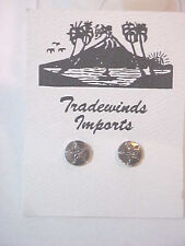 Silver Sand Dollar   Legend Inspiration Pierced Post Earrings Small Never worn