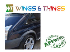 WING MK7 2006-2013 NEW PAINTED WING FORD TRANSIT N//S LEFT BLUE AMBITION