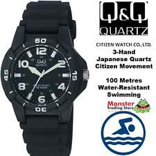 AUSSIE SELLER GENTS DIVERS STYLE WATCH CITIZEN MADE VQ84J007 100-METRES WARRANTY