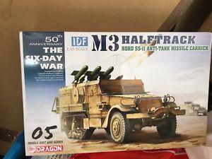 Dragon 1/35 IDF M3 Half-Track w/TCM-20 Anti-Aircraft Gun # 3586