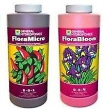 General Hydroponics Flora Series 2 Pack Bloom & Micro - 2 x 946ml Nutrients