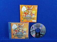 Sega Dreamcast EVOLUTION The World Of Sacred Device *y Boxed & Complete RPG PAL
