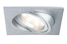 Paulmann Premium EBLSet Coin Dimmbar eckig LED 3x7w Einbau-leuchte Lampe Alu