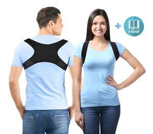 Haltungsstütze Geradehalter Haltungskorrektur Rückenstütze Rückenstabilisator