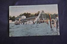 Toboggan Slide, Sylvan Beach, NY Postcard