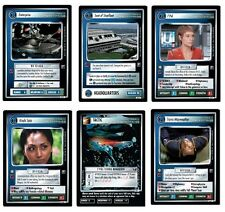 STAR TREK CCG : ENTERPRISE COLLECTION COMPLETE SET MINT!