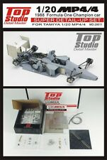 1/20 Top Studio Mclaren Honda MP4/4 transkit F1 1988 tamiya Grand Prix studio27
