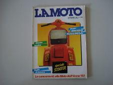 LA MOTO 9/1983 BMW R80 R 80 ST / MONTESA COTA 242/VESPA PK 125 S / PK 50 S