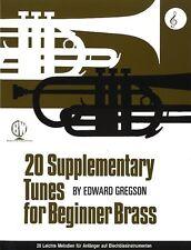 20 Supplementary Tunes for Beginner Brass - Same Day P+P